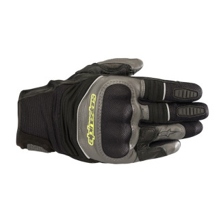 GUANTI ALPINESTARS CROSSER AIR GLOVE - BLACK ANTHRACITE YELLOW FLUO