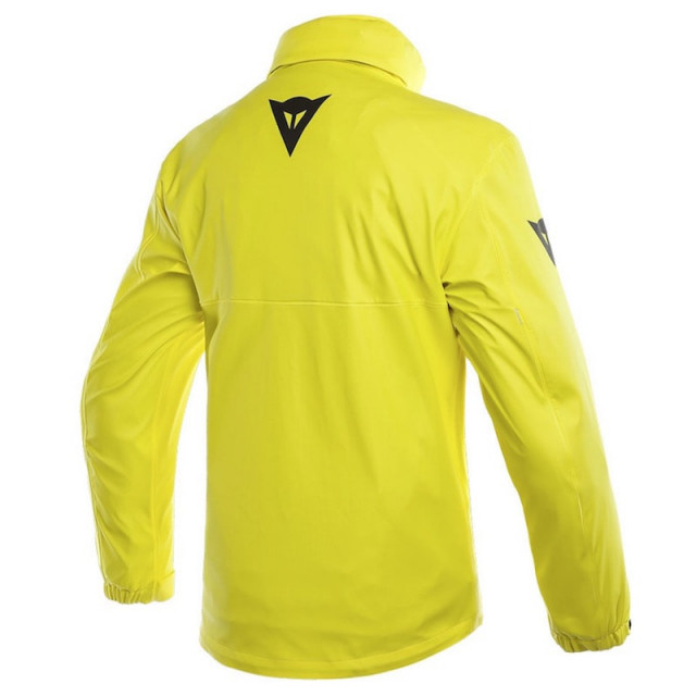 WATERPROOF DAINESE STORM LADY JACKET - Fluo Yellow - BACK