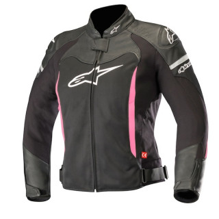 GIACCA ALPINESTARS STELLA SP X AIR JACKET - BLACK WHITE FUCHSIA