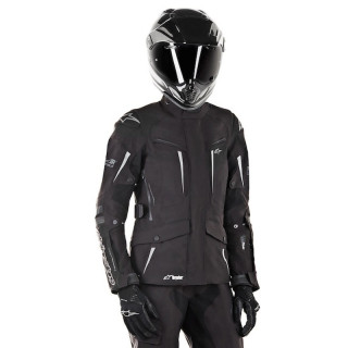 GIACCA ALPINESTARS STELLA YAGUARA DRYSTAR TECH-AIR JACKET BLACK ANTHRACITE - DONNA
