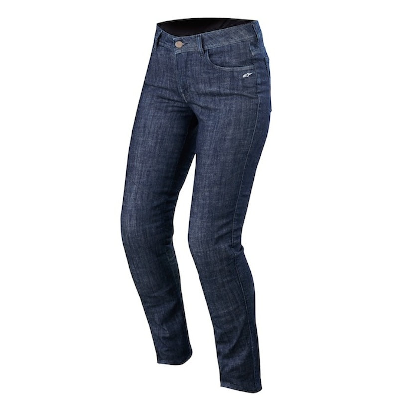 ALPINESTARS STELLA COURTNEY DENIM PANTS - DARK RINSE