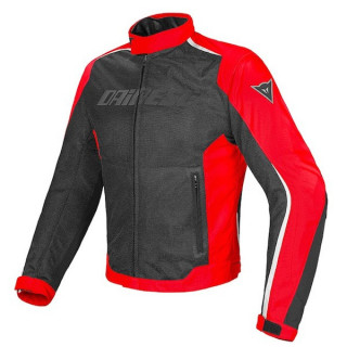 DAINESE HYDRA FLUX D-DRY JACKET - BLACK RED WHITE