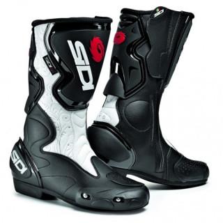 SIDI FUSION LEI BOOTS - BLACK WHITE