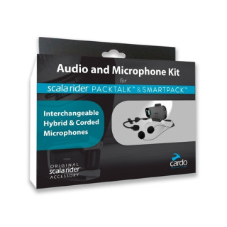 AUDIO KIT FOR CARDO PACKTALK & SMARTPACK