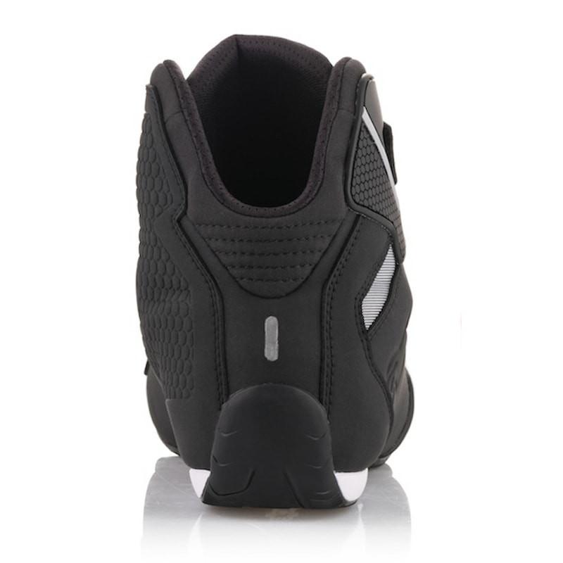 7, Black Sektor Wateproof Motorcycle Riding Shoe
