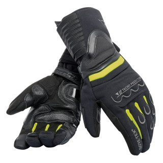 DAINESE SCOUT 2 GORE-TEX GLOVES - BLACK YELLOW FLUO