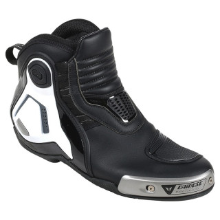 SCARPE DAINESE DYNO PRO D1 SHOES - BLACK WHITE ANTHRACITE