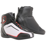 DAINESE RAPTORS AIR SHOES - BLACK WHITE LAVA RED