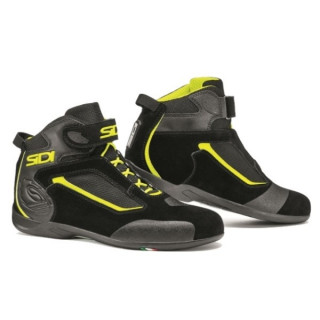 SIDI GAS SHOES - BLACK FLUO