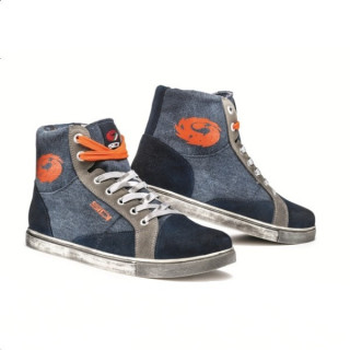 SIDI INSIDER SHOES - BLUE ORANGE