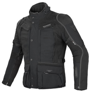 DAINESE D-EXPLORER GORE-TEX JACKET - BLACK DARK GULL GREY
