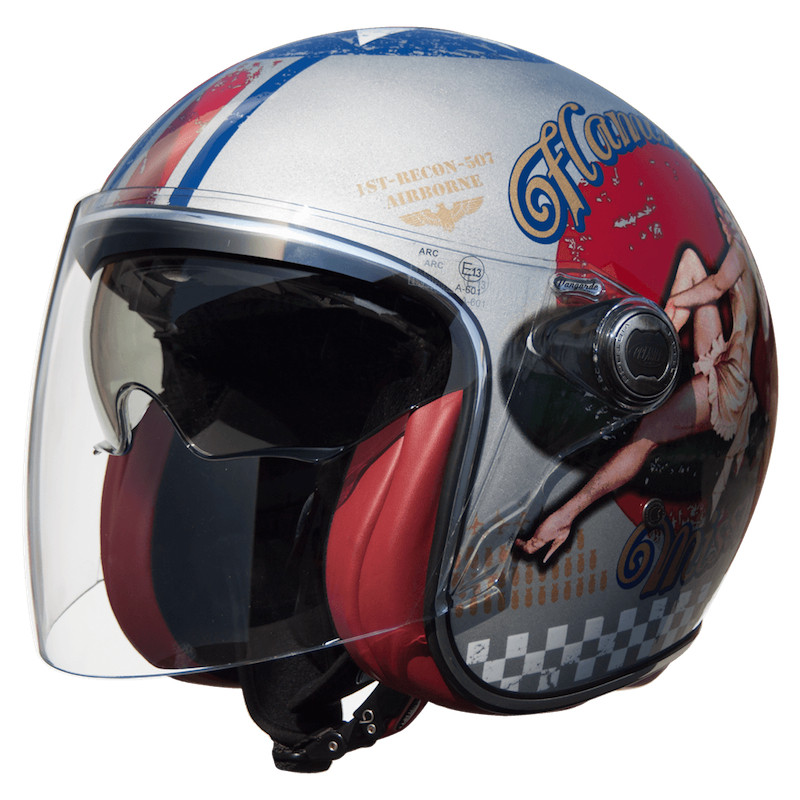 CASCO PREMIER VANGARDE PIN UP OLD STYLE SILVER