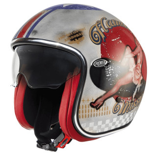 PREMIER VINTAGE PIN UP OLD STYLE HELMET