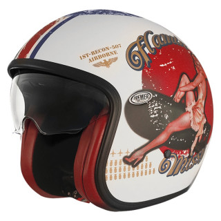 PREMIER VINTAGE PIN UP HELMET - PIN UP 8 BM