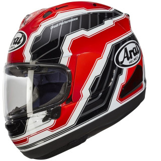 ARAI RX-7V MAMOLA EDGE REPLICA - RED