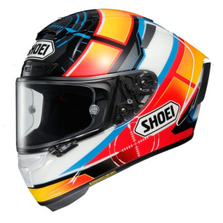 SHOEI X-SPIRIT 3 DE ANGELIS REPLICA