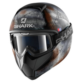 CASCO SHARK VANCORE FLARE MAT - BLACK ANTHRACITE ORANGE