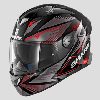 CASCO SHARK SKWAL 2 DRAGHAL - BLACK ANTHRACITE RED