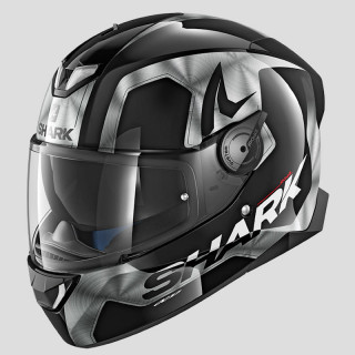 CASCO SHARK SKWAL 2 TRION - BLACK CHROME ANTHRACITE