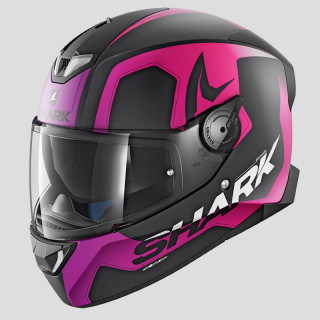CASCO SHARK SKWAL 2 TRION MAT - MAT BLACK VIOLET