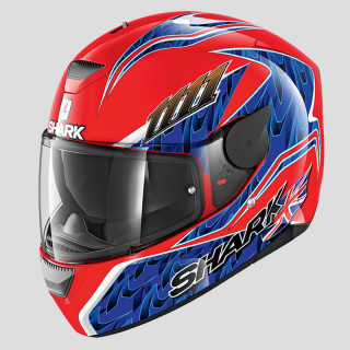 CASCO SHARK D-SKWAL REPLICA FOGARTY - RED BLUE