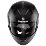 SHARK RIDILL BLANK MAT HELMET MAT BLACK - FRONT