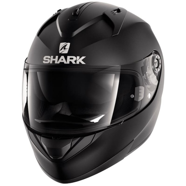 SHARK RIDILL BLANK MAT HELMET - MAT BLACK