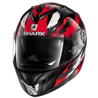 CASCO SHARK RIDILL OXYD - BLACK RED SILVER