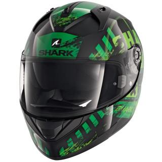 SHARK RIDILL SKYD HELMET - BLACK GREEN