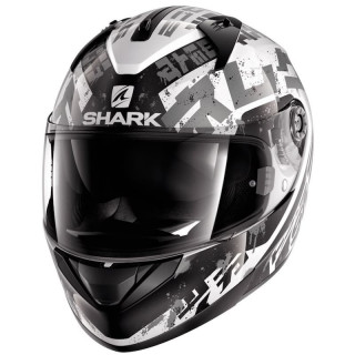CASCO SHARK RIDILL KENGAL - WHITE BLACK SILVER