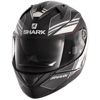 CASCO SHARK RIDILL TIKA MAT - MAT BLACK ANTHRACITE WHITE