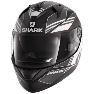 SHARK RIDILL TIKA MAT HELMET - MAT BLACK ANTHRACITE WHITE