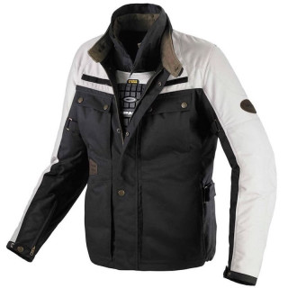 SPIDI WORKER H2OUT JACKET - BLACK-IVORY