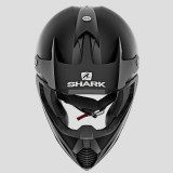 SHARK VARIAL BLANK MAT HELMET BLACK MAT - FRONT