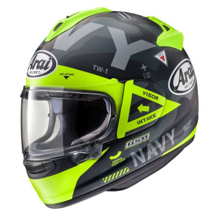 ARAI CHASER-X NAVY - YELLOW
