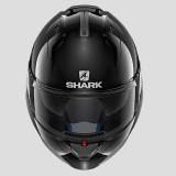 CASCO SHARK EVO-ONE 2 BLANK BLACK - FRONTE