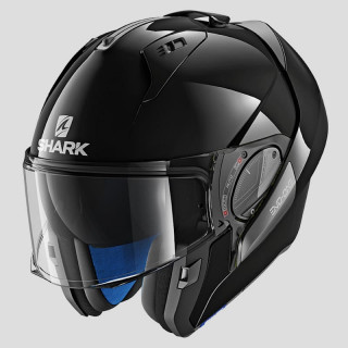 SHARK EVO-ONE 2 BLANK HELMET - BLACK