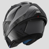 SHARK EVO-ONE 2 LITHION DUAL HELMET ANTHRACITE  BLACK ANTHRACITE - OPEN FACE BACK