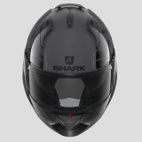SHARK EVO-ONE 2 LITHION DUAL HELMET ANTHRACITE  BLACK ANTHRACITE - FRONT