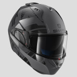 SHARK EVO-ONE 2 LITHION DUAL HELMET ANTHRACITE  BLACK ANTHRACITE - SIDE