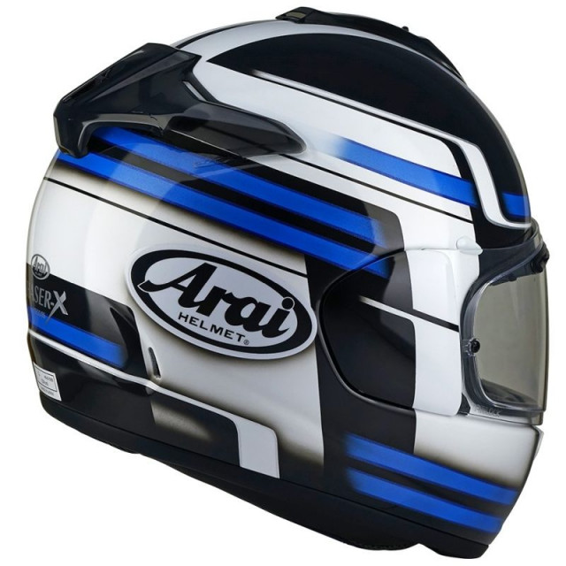 ARAI CHASER-X COMPETITION BLUE - BACK