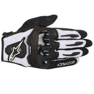 ALPINESTARS SMX-1 AIR CARBON GLOVE - NERO BIANCO