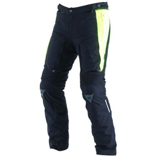 DAINESE D-STORMER D-DRY PANT - BLACK FLUO YELLOW