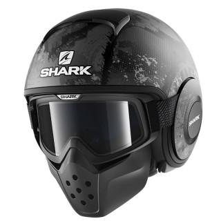 SHARK DRAK EVOK MAT HELMET - MAT BLACK ANTHRACITE