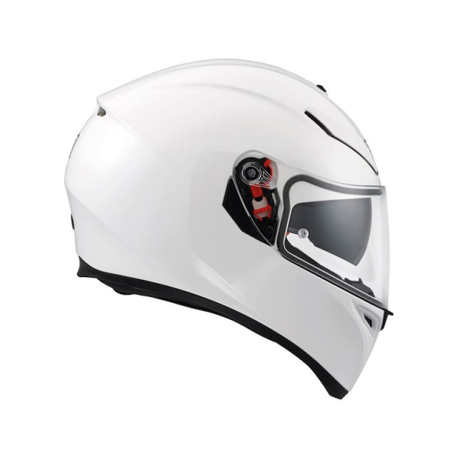 AGV K-3 SV SOLID HELMET PEARL WHITE - SIDE