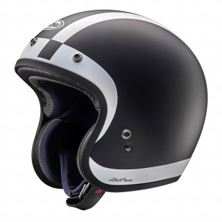 ARAI FREEWAY CLASSIC HALO - WHITE BLACK