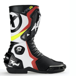 XPD VR6.2 Boots - Black White Red