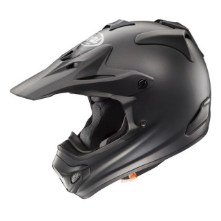 ARAI MX-V PLAIN - FROST BLACK