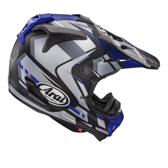 ARAI MX-V BOGLE BLUE - BACK