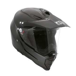 CASCO AGV AX-8 DUAL EVO SOLID - BLACK